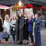 Our group outside the Wicklow Heather Restaurant