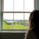 Looking out on to Russborough Estate