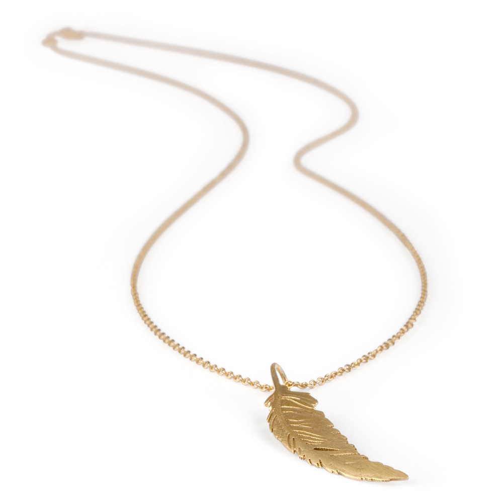 Feather Necklace The Irish Collection